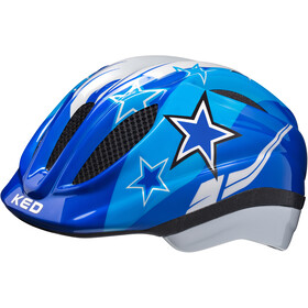 KED Meggy casco per bici Bambino blu